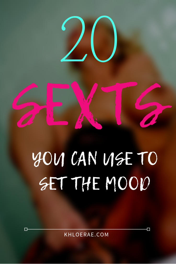 20 Sexts you can use with your partner