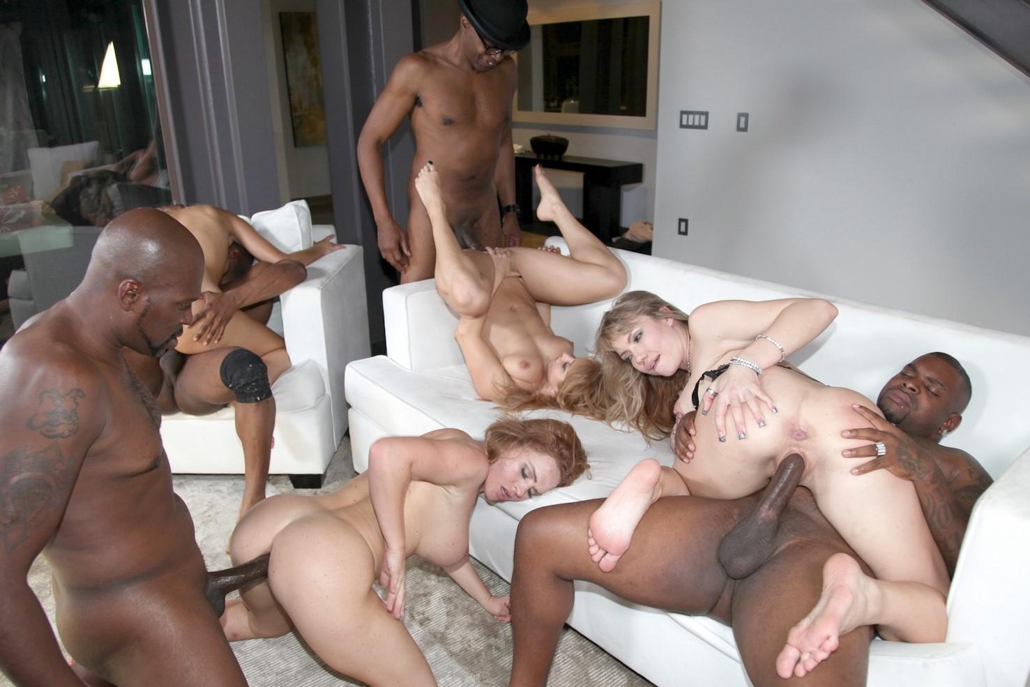 Valentine's orgy
