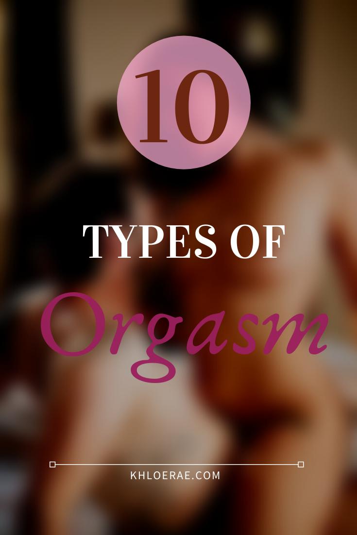 10 types of orgasm